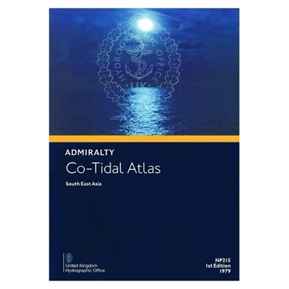 Admiralty Co-Tidal Atlas - Asia NP215